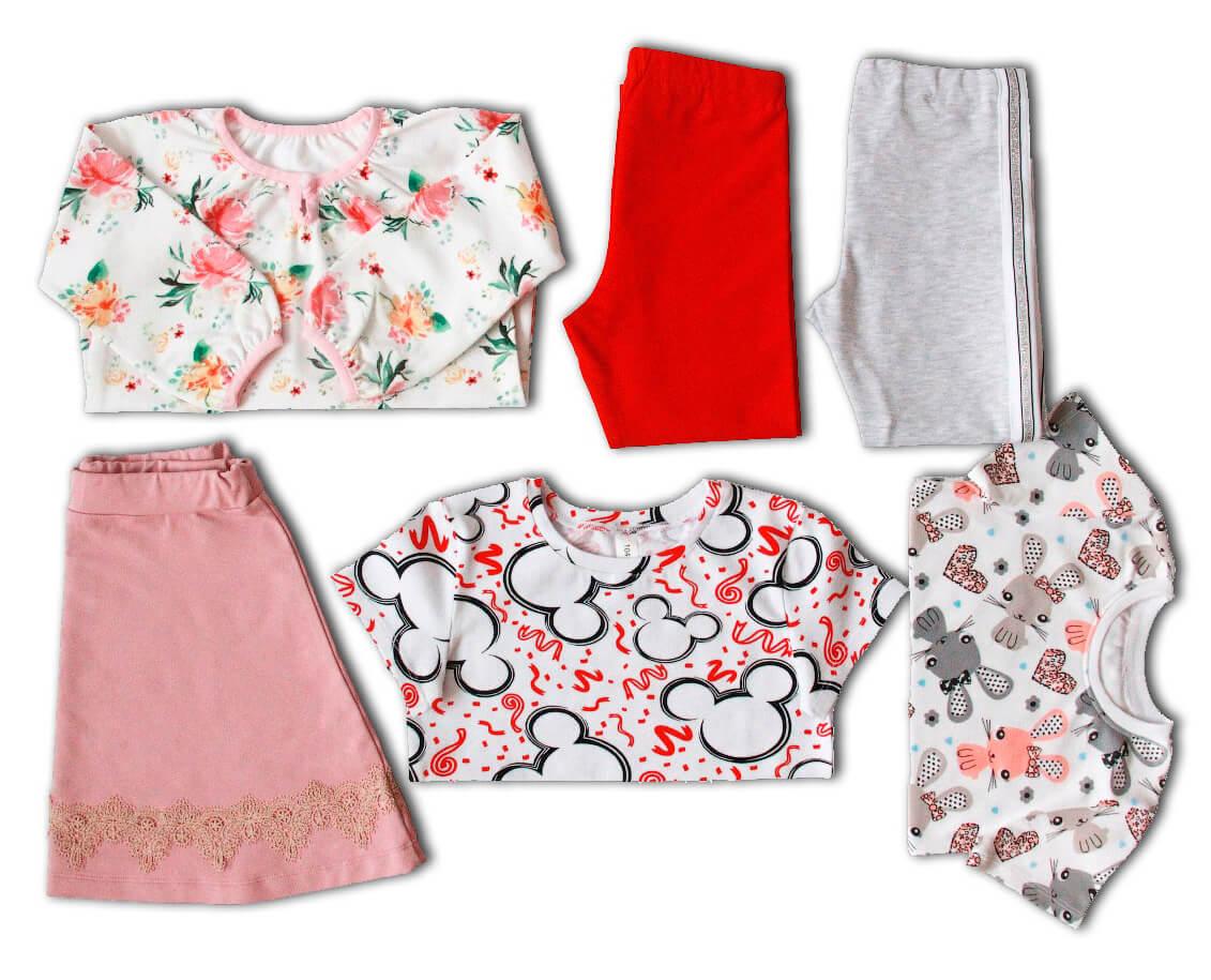 капсульный гардероб для девочки